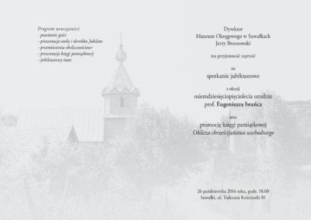 iwaniec-85-lat-zaproszenie przesuniete.indd
